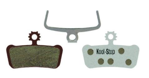 Kool-Stop XO/Elixir/Guide Disc Brake Pads, Aluminum Plate-1
