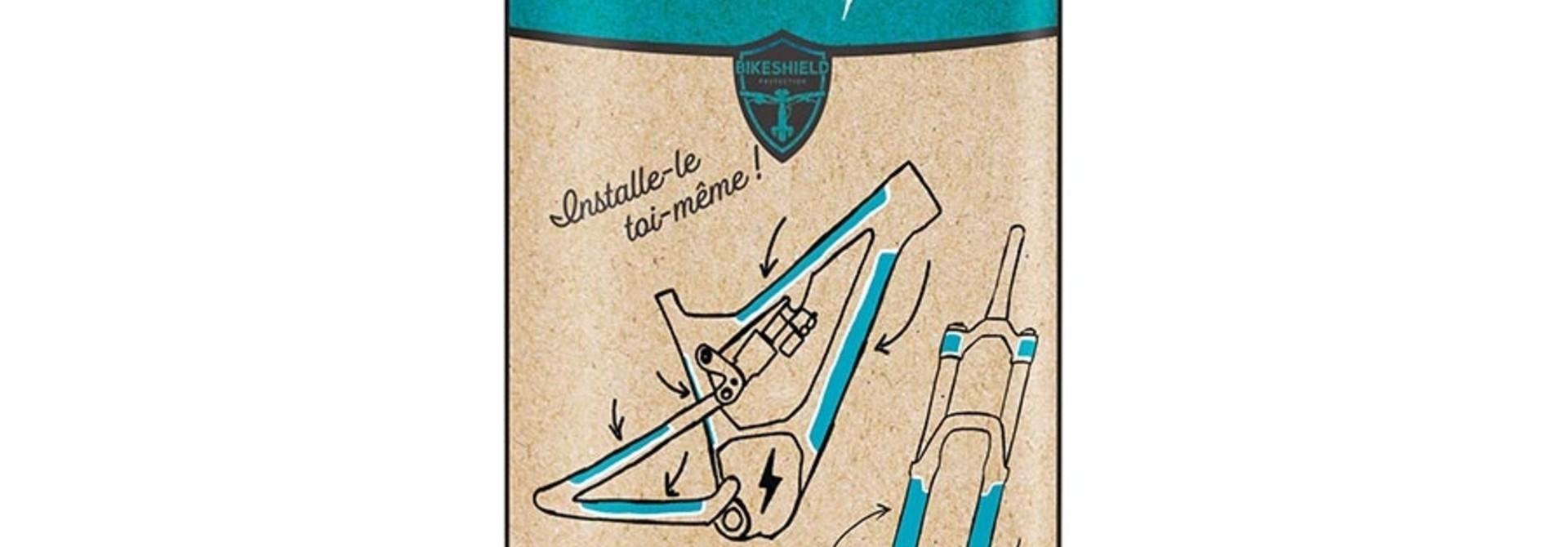 Bikeshield Protection, Distorsion, Matte