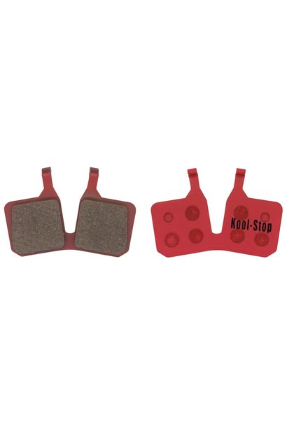 Kool-Stop Magura MT5 Disc Brake Pads Steel Plate Semi Metallic  (2 pads)
