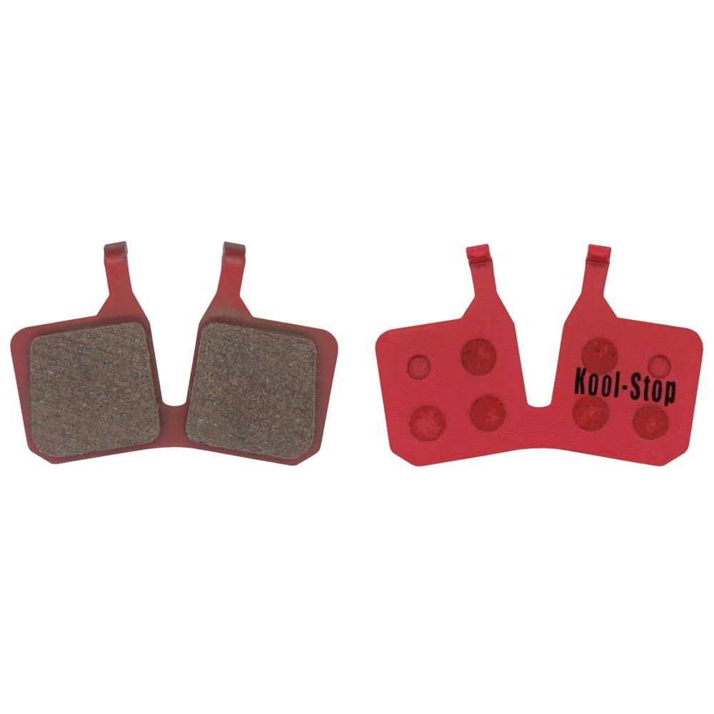 Kool-Stop Magura MT5 Disc Brake Pads Steel Plate Semi Metallic  (2 pads)-1
