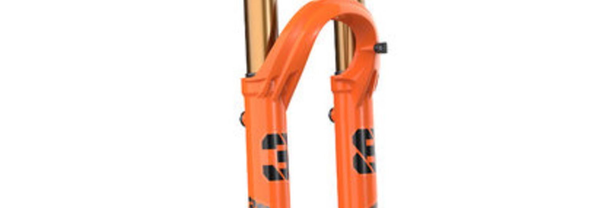 2021 Fox Float Factory 38,27.5in,180mm,Grip2, Shiny Orange,15QRx110, 44mm Rake