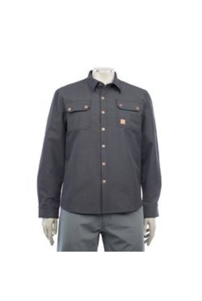 Chromag Tech Button Up Charcoal Heather