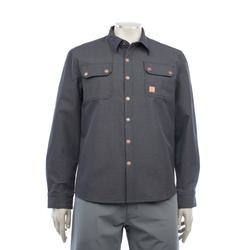 Chromag Tech Button Up Charcoal Heather-1