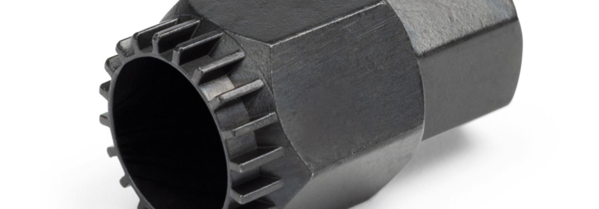 Park Tool, BBT-22, Bottom bracket tool, Cartridge type, For 3/8'' drive ratchet