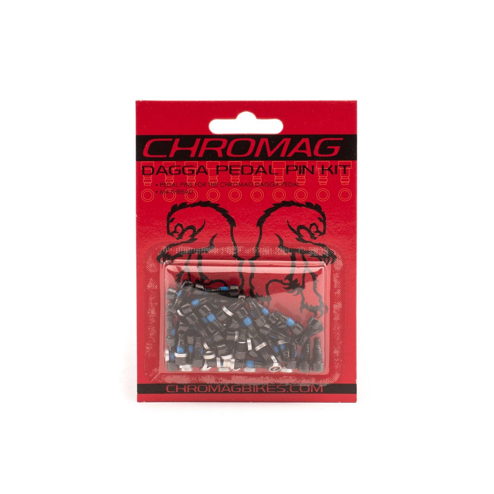 Chromag 40 pcs Dagga Pedal Pin Kit / Black-1