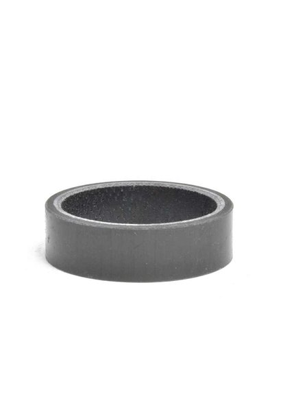 Wheels Manufacturing, Gloss Carbon, Headset Spacer, 1-1/8'', Height: 10mm, Carbon, Black, 1pc