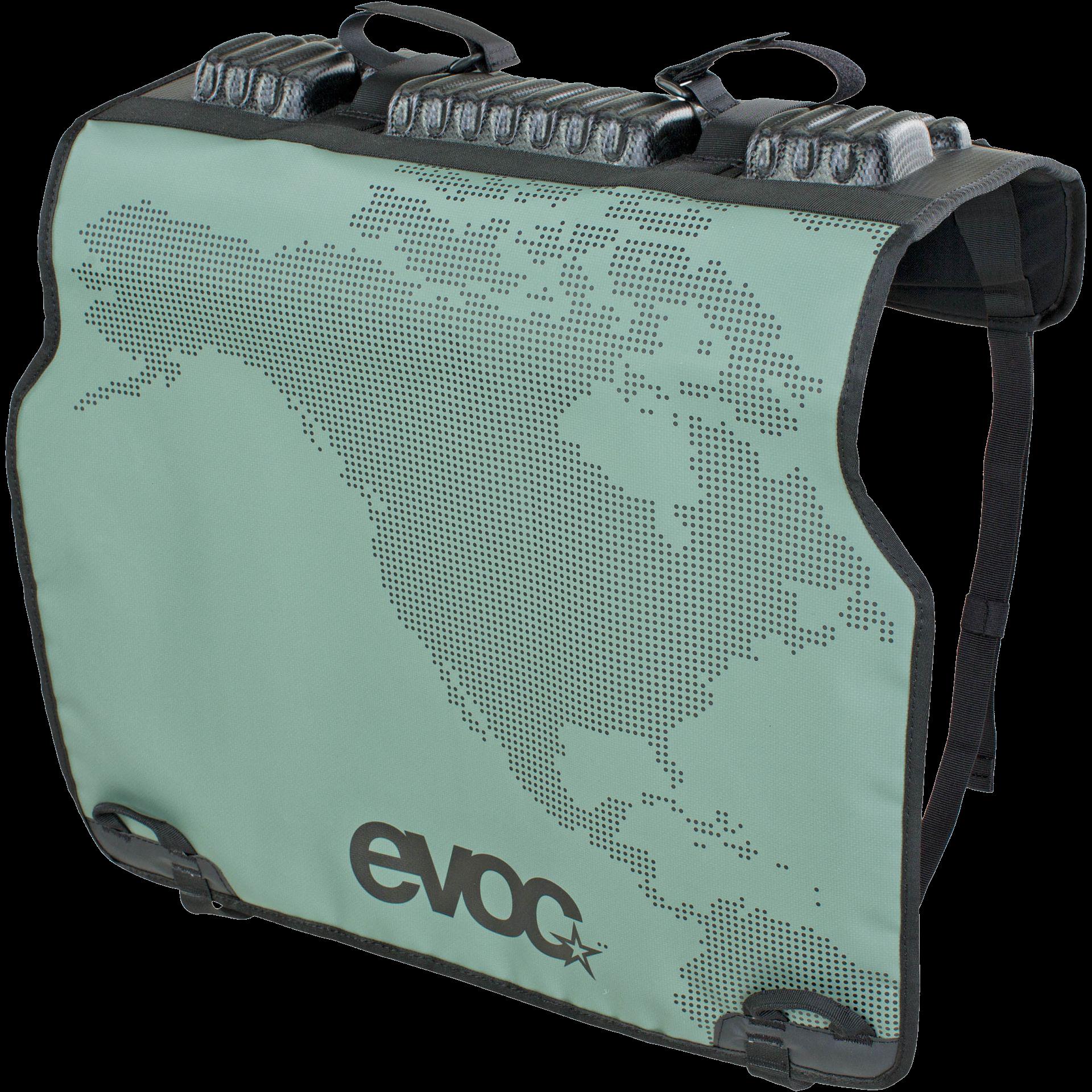 EVOC, Tailgate Pad Duo, Fits all trucks, Olive-1
