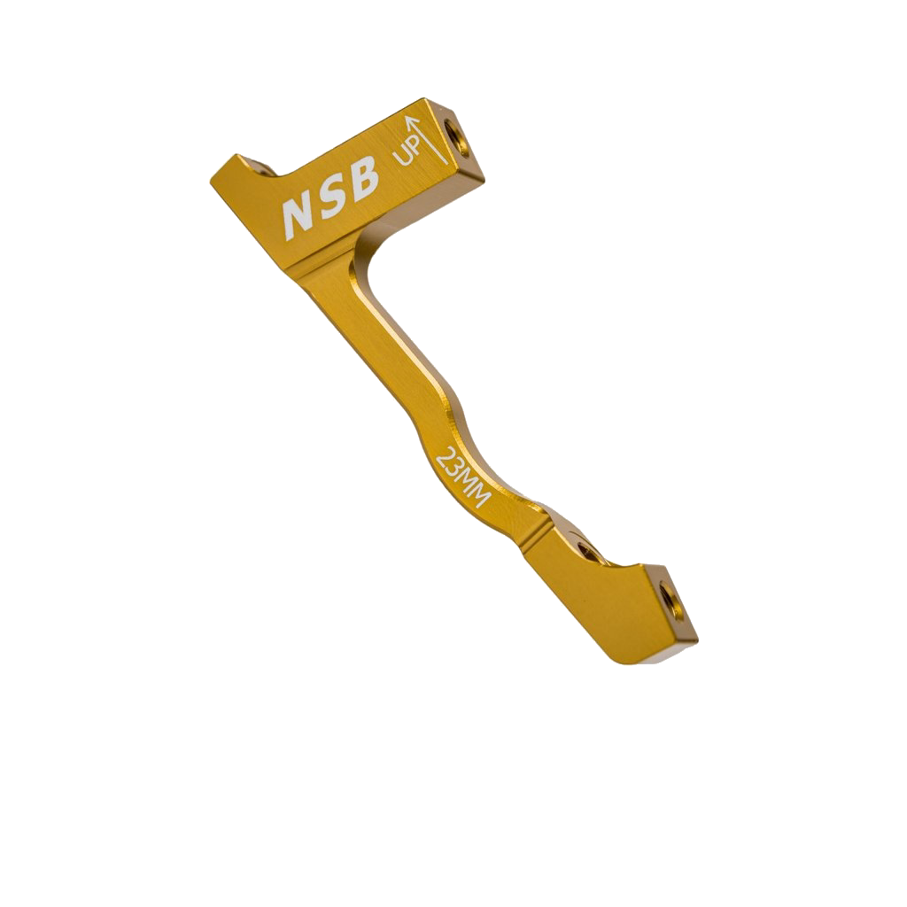 North Shore Billet Disk Brake Post Mount Adapters 180mm to 203mm  (+23mm)-3