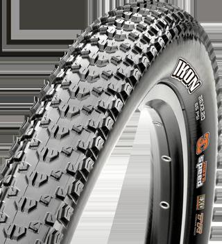 Maxxis Ikon Tire - 26 x 2.2, Clincher, Wire Bead, Black-2
