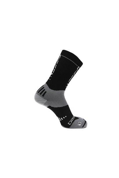 """Dissent Supercrew Compression Nano Socks 8"""" Cuff"""