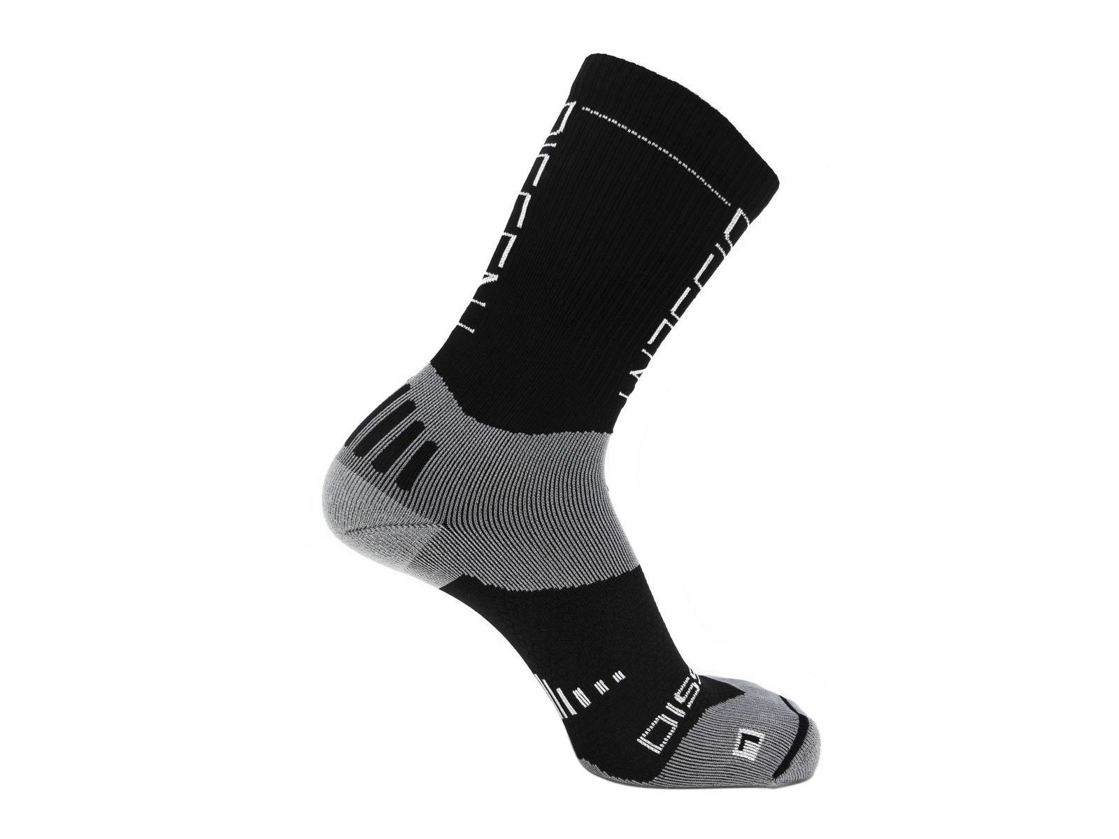"""Dissent Supercrew Compression Nano Socks 8"""" Cuff-1"""