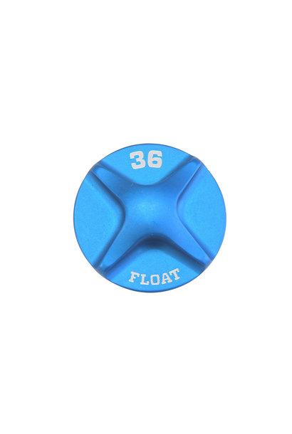FOX 2014 36 FLOAT Air Topcap, Blue Ano