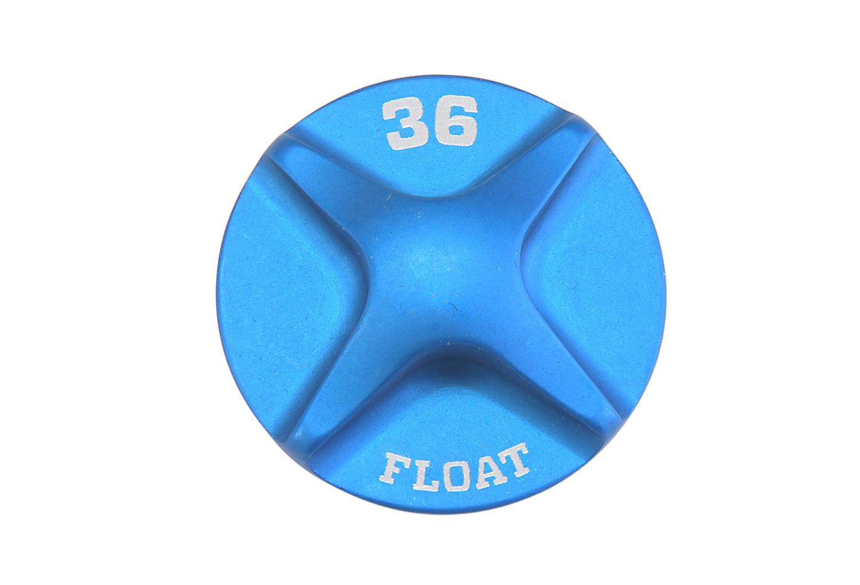 FOX 2014 36 FLOAT Air Topcap, Blue Ano-1