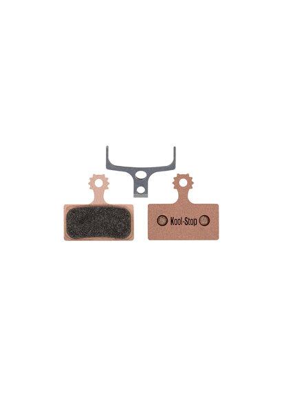 Kool-Stop Shimano Sintered M9000/M8000 Disc Brake Pads Copper Plate #KS-D635S