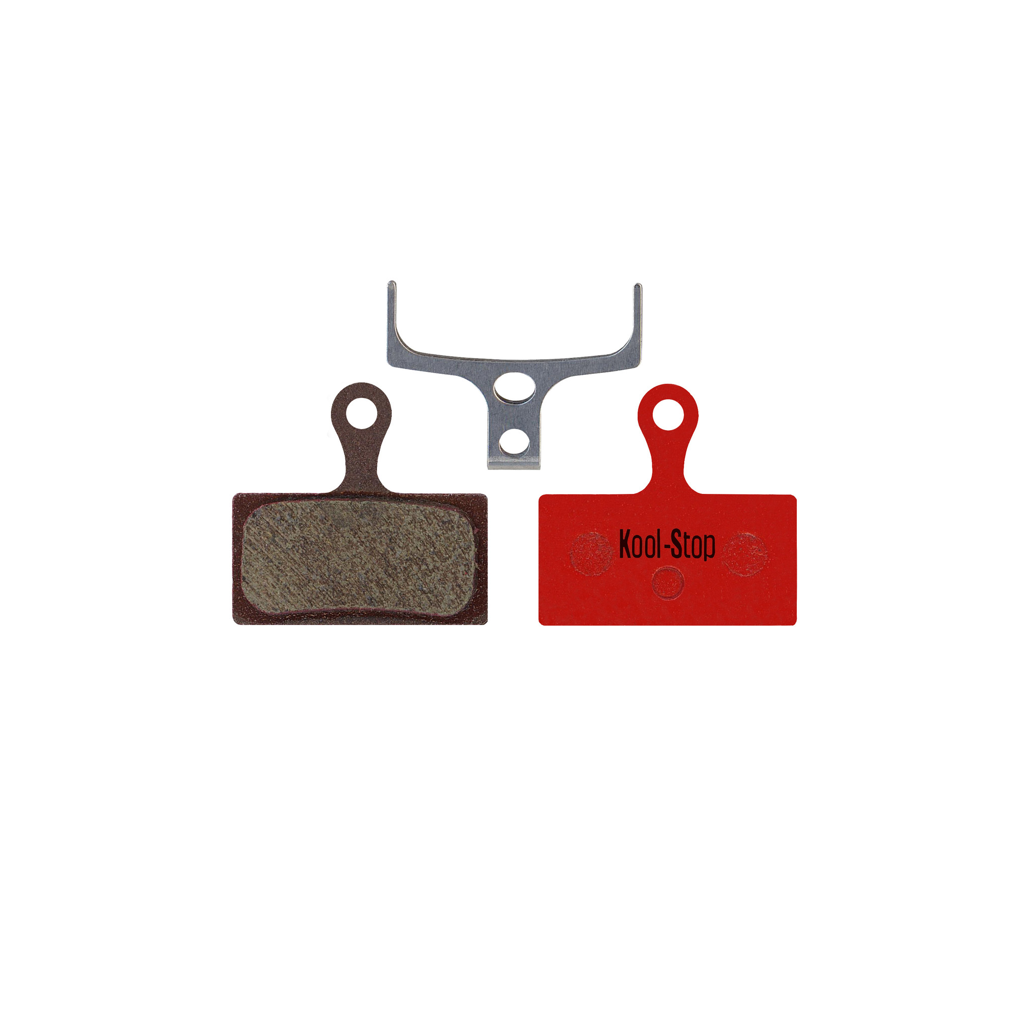 Kool-Stop Shimano Organic M9000/M8000 Disc Brake Pads Steel Plate #KS-D635-1