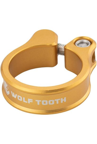 Wolf Tooth Seatpost Clamp 34.9mm Gold