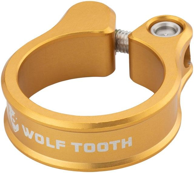 Wolf Tooth Seatpost Clamp 34.9mm Gold-1