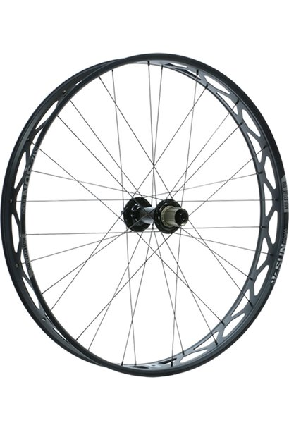 "Sun Ringle Mulefut 80SL V2 Rear Wheel - 27.5"", 12 x 197mm, 6-Bolt, Micro Spline / XD, Black"