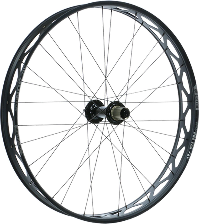 "Sun Ringle Mulefut 80SL V2 Rear Wheel - 27.5"", 12 x 197mm, 6-Bolt, Micro Spline / XD, Black-1"