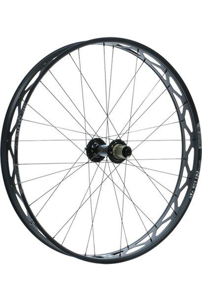 "Sun Ringle Mulefut 80SL V2 Rear Wheel - 26"", 12 x 197mm, 6-Bolt, Micro Spline / XD, Black"