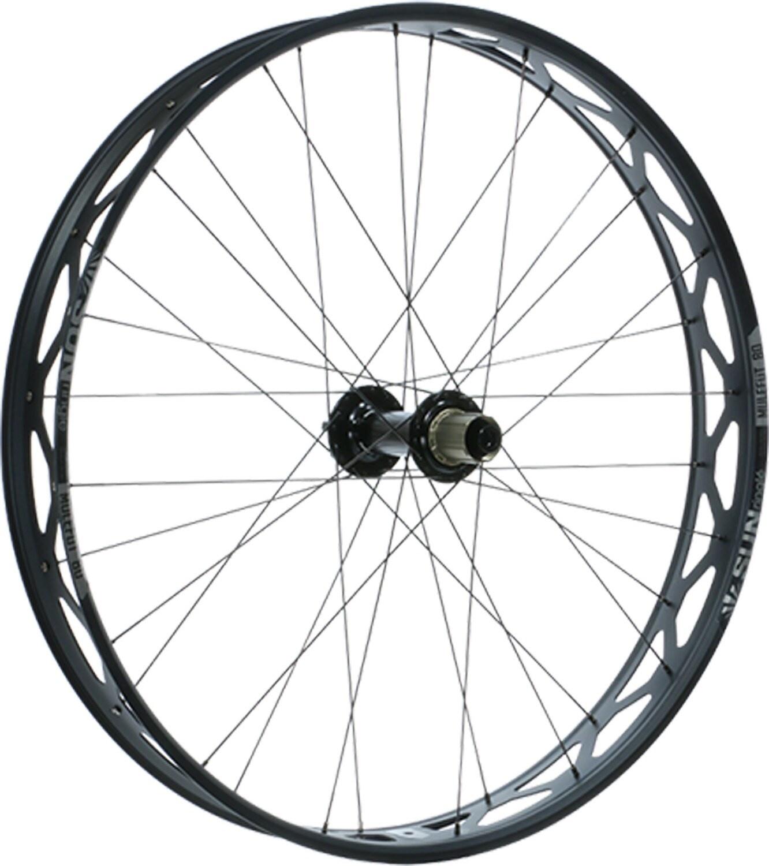 "Sun Ringle Mulefut 80SL V2 Rear Wheel - 26"", 12 x 197mm, 6-Bolt, Micro Spline / XD, Black-1"