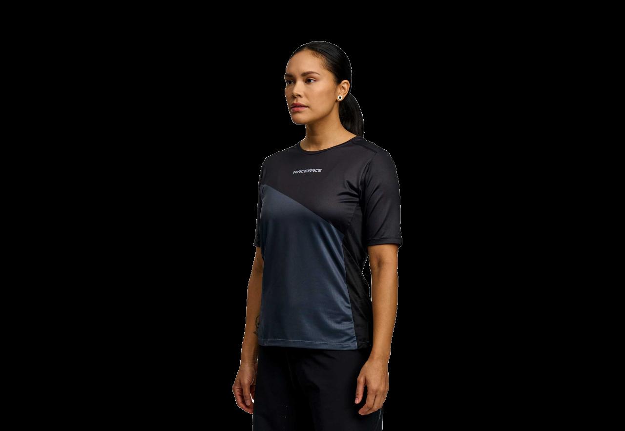 RaceFace Indy Short Sleeve Women's Jersey - Black-1