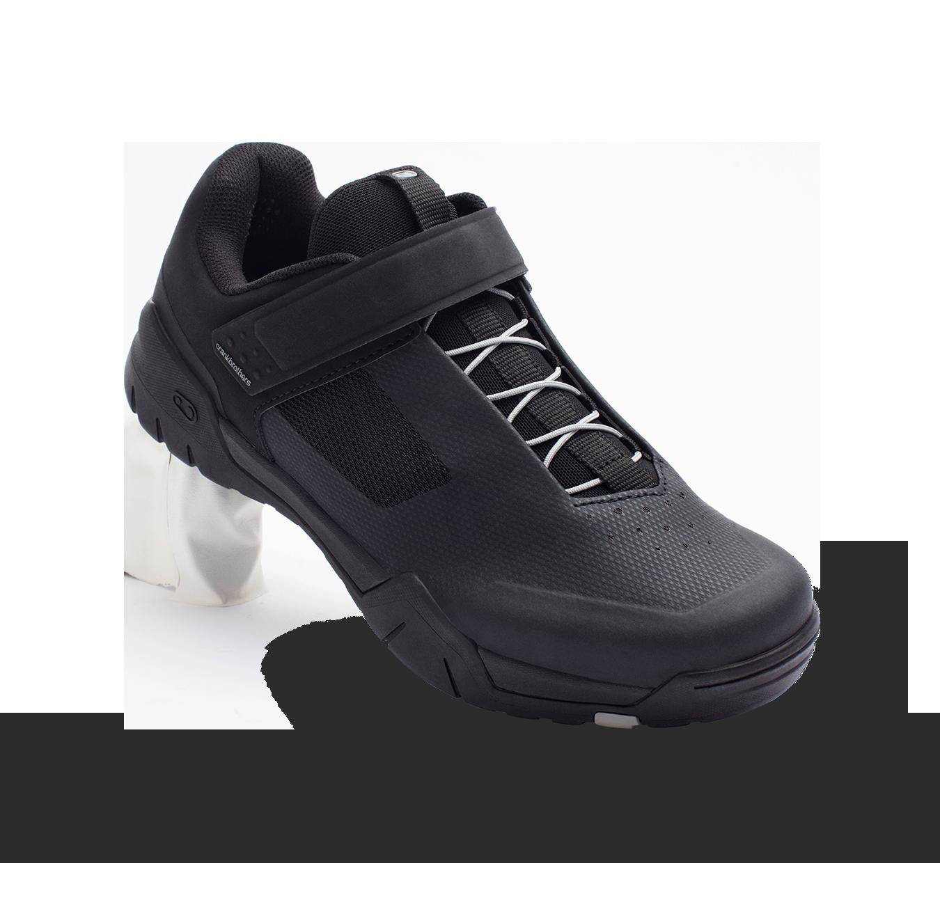 CrankBrothers Mallet E Speedlace Shoe Black/Silver-1
