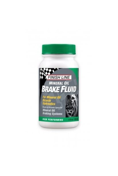 Finish Line Mineral Oil Brake Fluid 4oz