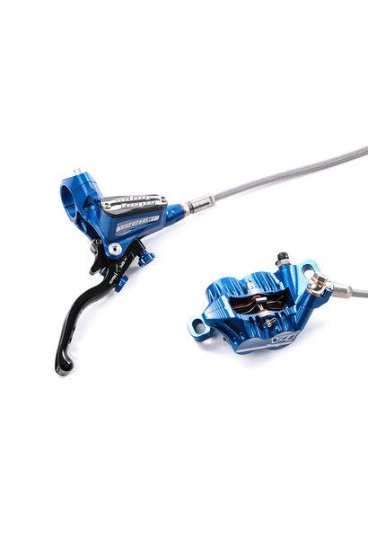 Hope Tech Brake 3 V4 Braided Line Blue