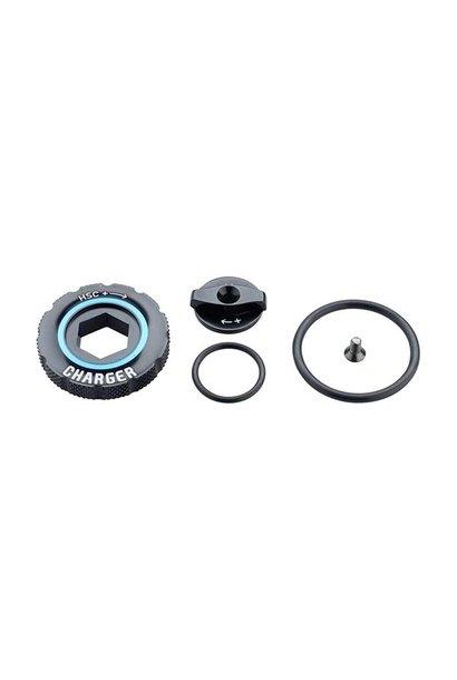 RockShox Compression Damper Knob Kit - Charger 2 RC2, Kit