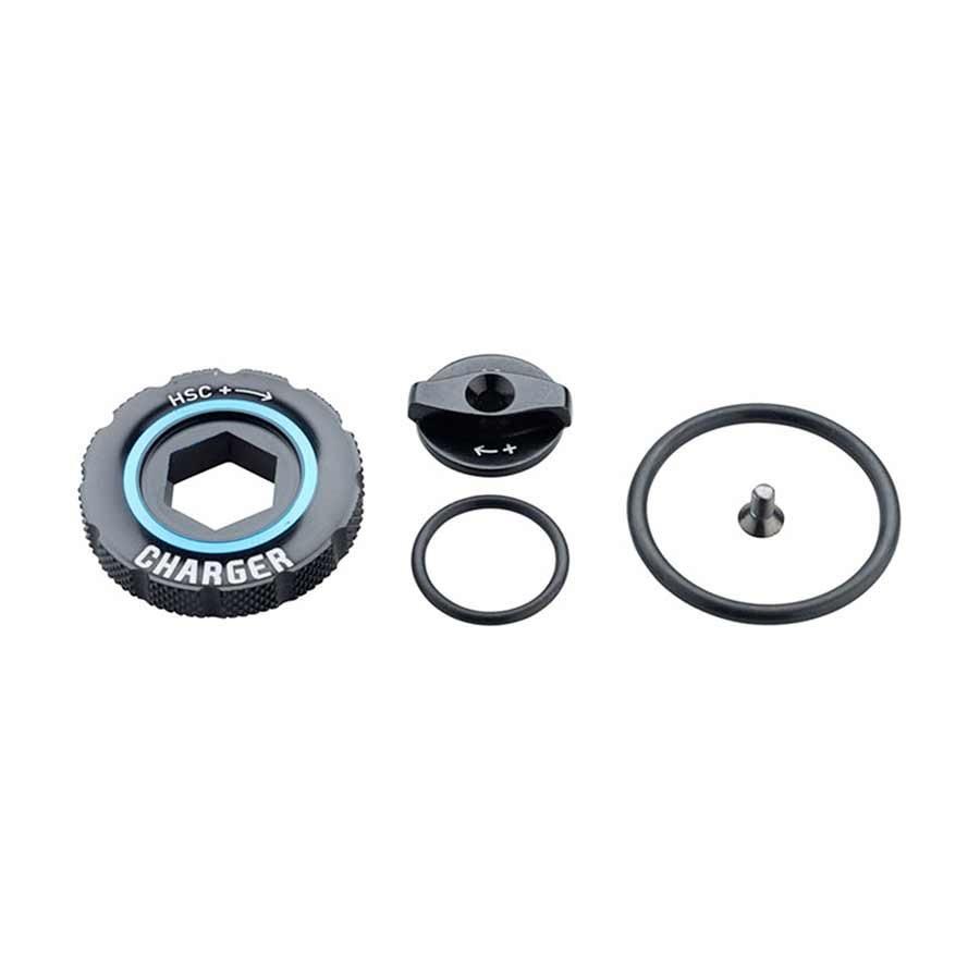 RockShox Compression Damper Knob Kit - Charger 2 RC2, Kit-1
