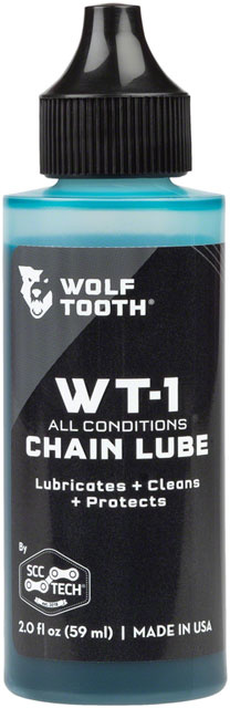Wolf Tooth WT-1 Chain Lube for All Conditions - 2oz-1