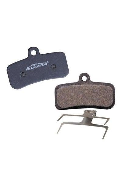 Alligator Semi-Metallic Disc Brake Pads - Shimano M640/M820 (4 Piston)