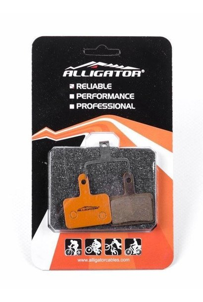 Alligator Organic Disc Brake Pads, Shimano M575/M495 (2 piston)