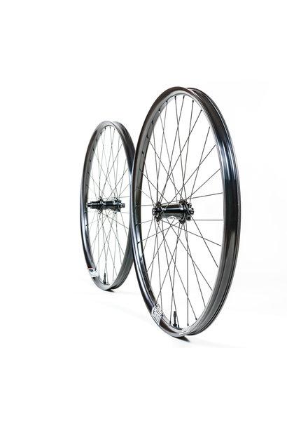"WR1 Wheelset Faction 29"" I9 1/1 Boost 110 x 15, 148 x 12 XD 6b Sapim Race Black"