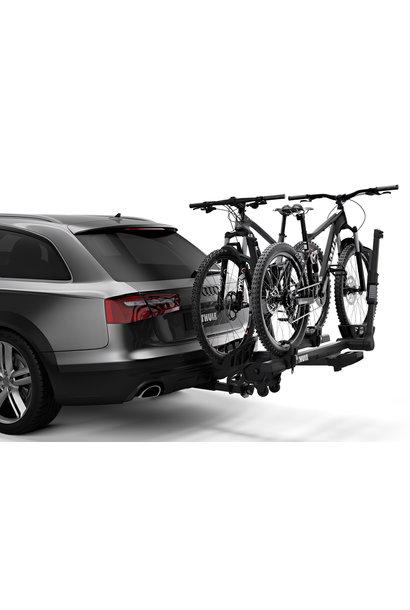 """Thule T2 PRO XTR Black 2"""" 2 Bike Rack"""