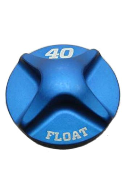 2014 Fox 40 FLOAT Air Topcap, Al, Blue Ano