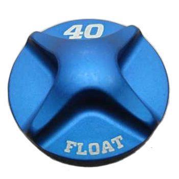 2014 Fox 40 FLOAT Air Topcap, Al, Blue Ano-1