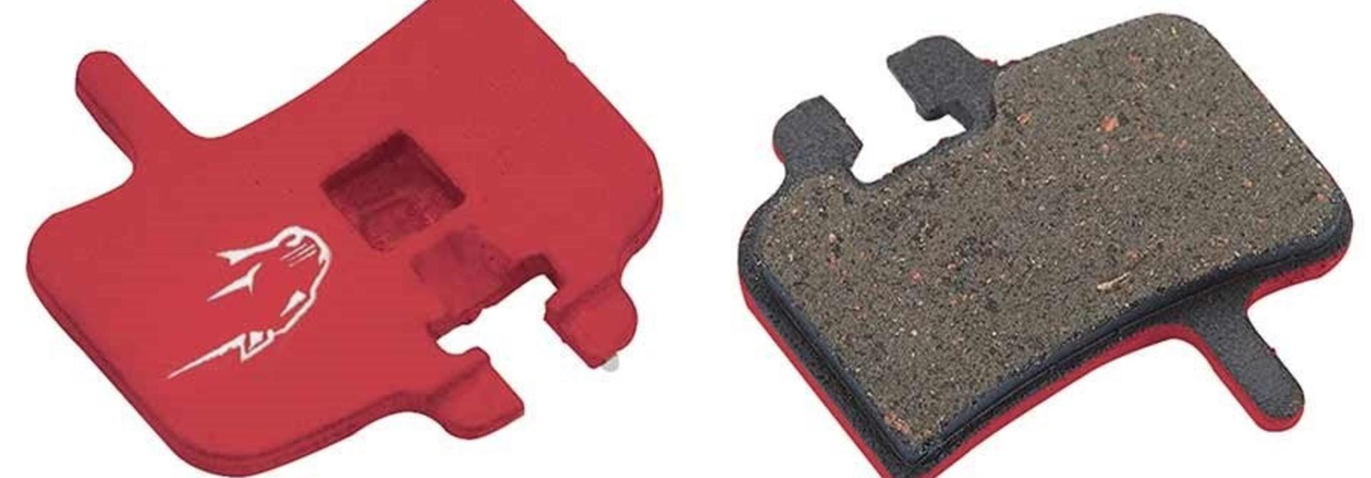 Jagwire, Mountain Sport, Disc brake pads, Semi-metallic, Hayes HFX, MX1
