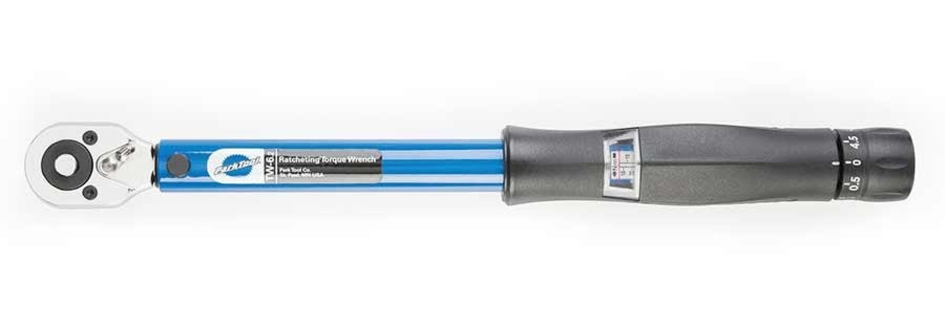 Park Tool - TW-6 Ratcheting 'Click-Type' Torque Wrench - 3/8'' Driver
