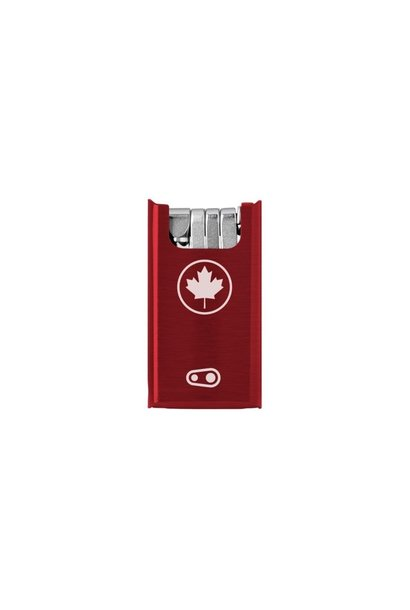 Crankbrothers F10 + Tool - Canada Red Case