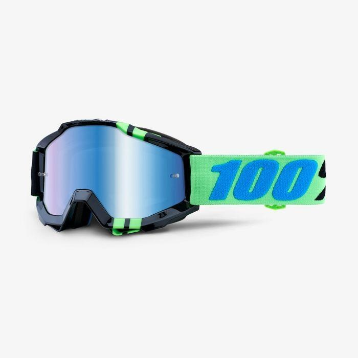 100% Accuri Goggles Mirror Zerg (1 Extra Clear Lens Included)-1