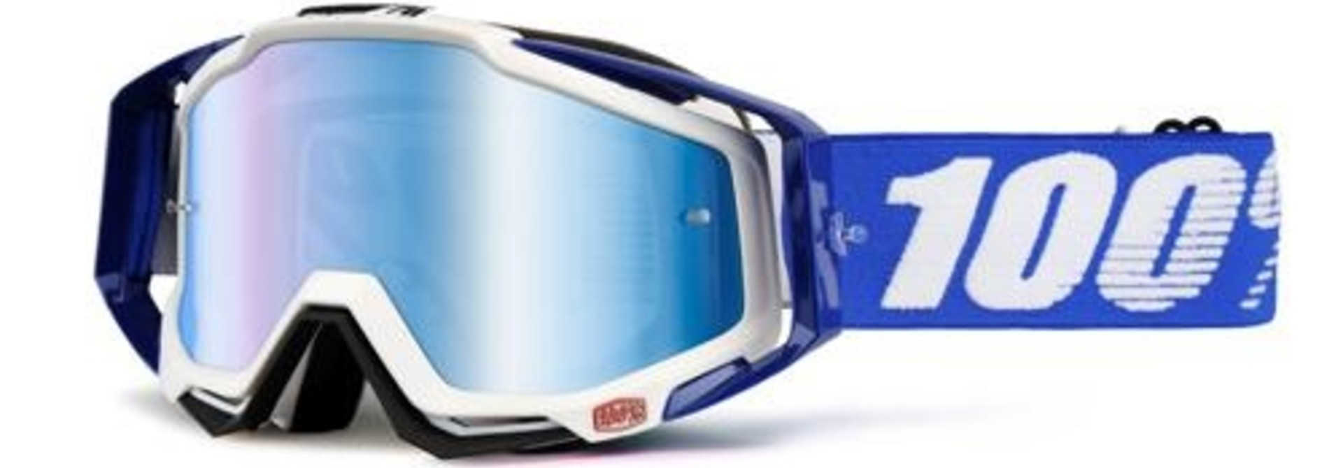 100% Racecraft Mirror Goggle (1 Extra Clear Lens Included)