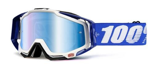 100% Racecraft Mirror Goggle (1 Extra Clear Lens Included)-1
