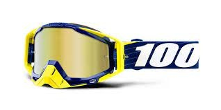 100% Racecraft Mirror Goggle (1 Extra Clear Lens Included)-2