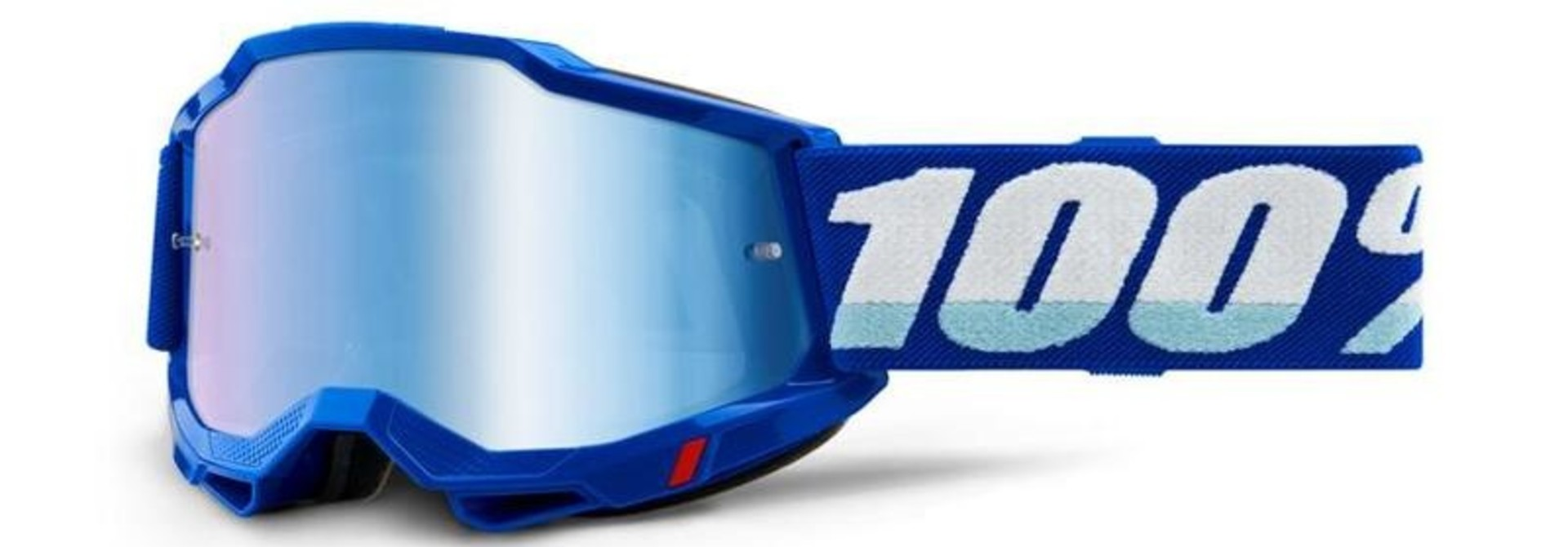 100% Accuri2 Mirror Goggle (1 Extra Clear Lens Included)