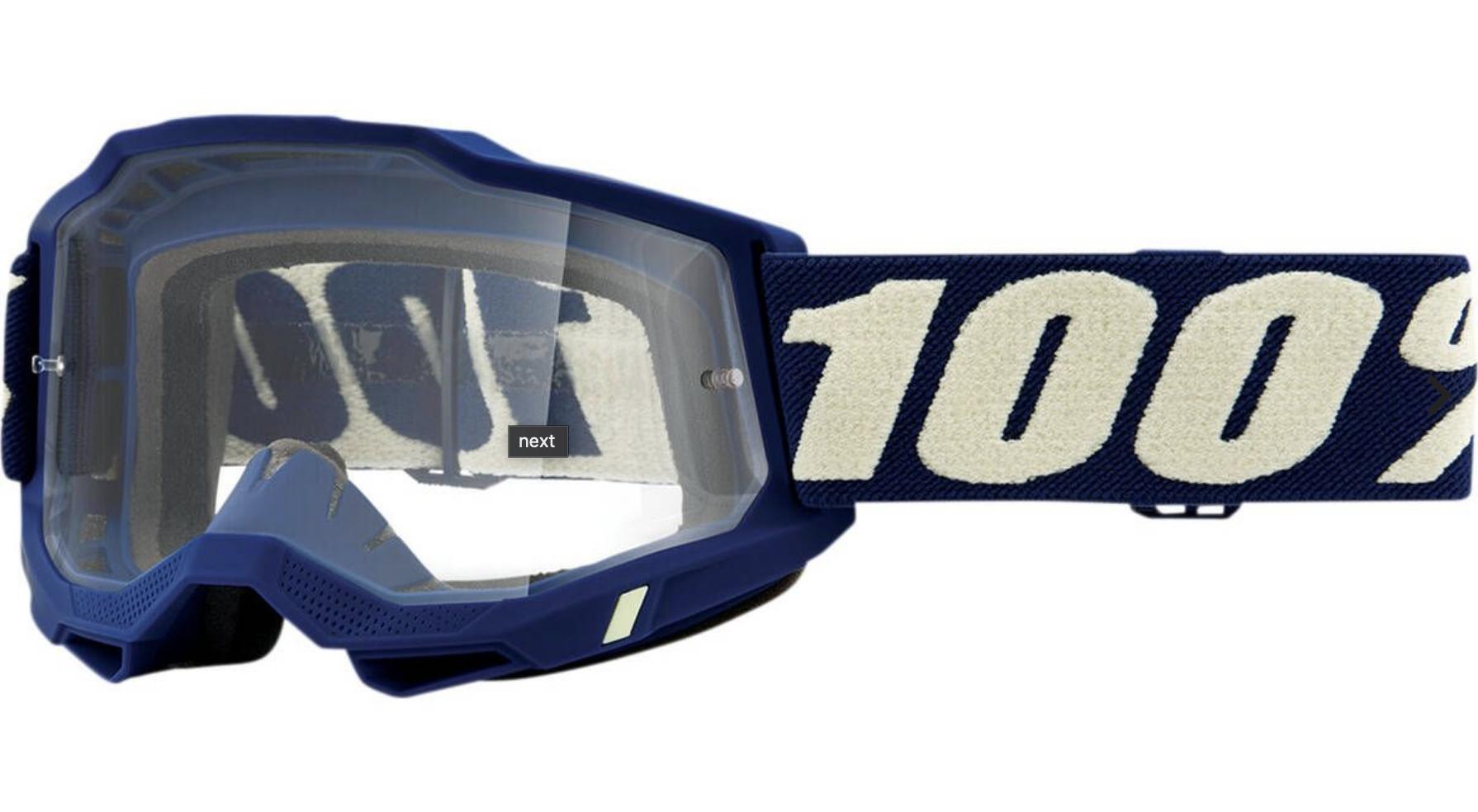 100% Accuri2 Clear Goggle-1