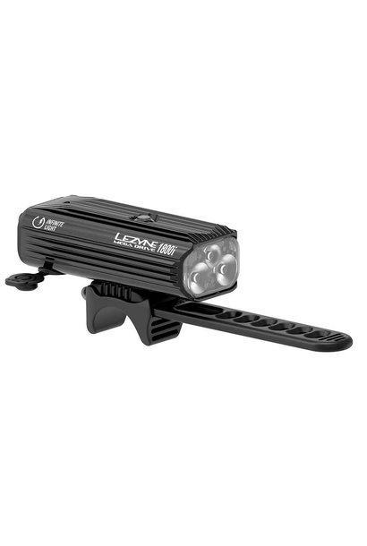 Lezyne Mega Drive 1800i Light - Front - Black