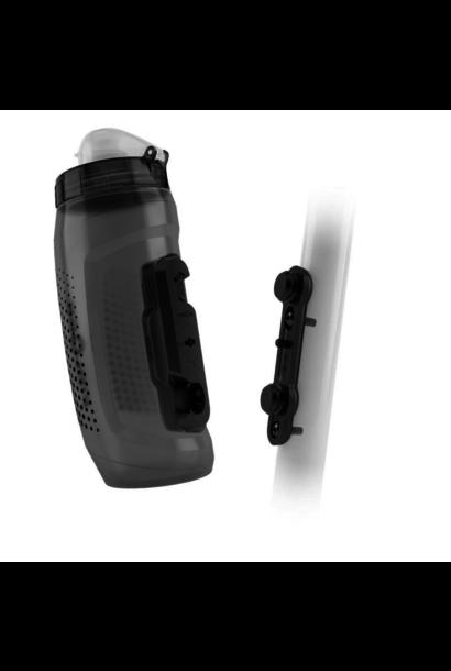 Fidlock Bottle 590ml w/ Bike Base Transparent Black