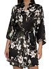 Midnight Bakery Midnight Bakery Floral and Black robe